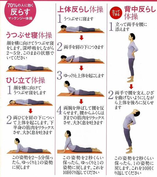 腰痛 体操